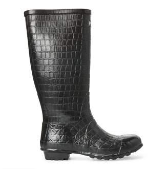 Ralph Lauren Julie Crocodile Rain Boot