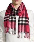 burberry giantcheck cashmere scarf