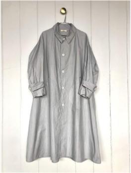 Sula Palace Coat Grey Cotton - S
