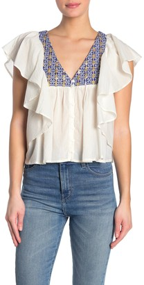 Raga Fenia Ruffled Blouse
