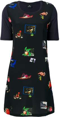 Paul Smith art print T-shirt dress