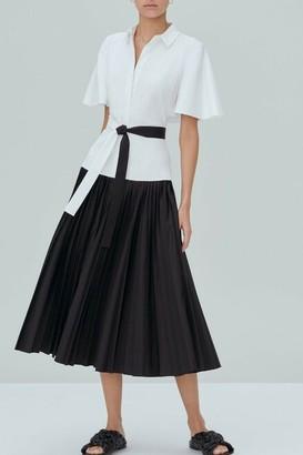 Alexis Bellanca Collared Midi Dress
