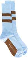 Marni striped socks - women - Silk/Nylon - S