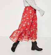 Promod Long patterned skirt