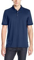 Calvin Klein Men's Liquid Cotton Stripe Polo Shirt