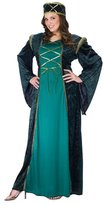 Fun World Costumes Plus Size Lady In Waiting Costume