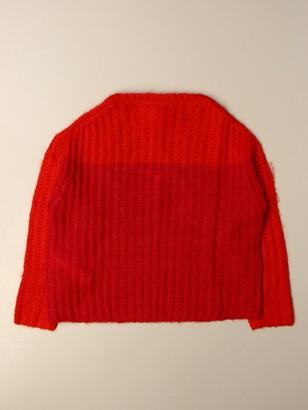 Marni Crewneck Sweater In Wool Blend