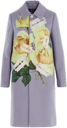 Undercover Floral Printed Coat
