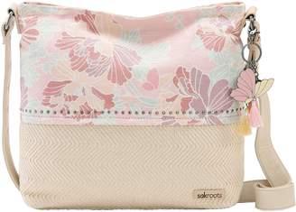 The Sak Sakroots Dakota Bucket Handbag w/ Adjustable Crossbody Strap