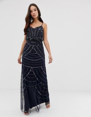 Lipsy beaded maxi dress