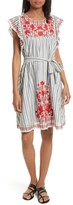 Kate Spade Women's Embroidered Babydoll Dress