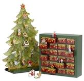 Villeroy & Boch Christmas Porcelain Tree Advent Calendar Set (3 PC)