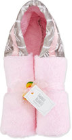 Swankie Blankie Arrow Hooded Towel, Pink/Slate