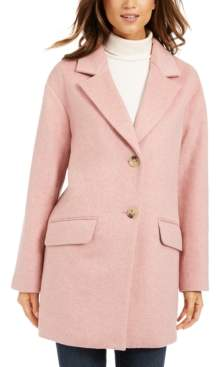 Charter Club Petite Button-Front Coat, Created For Macy's