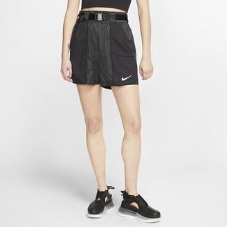 Nike Women's Woven Shorts Sportswear Swoosh