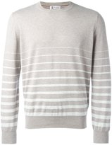 Brunello Cucinelli striped jumper - men - Cotton - 46