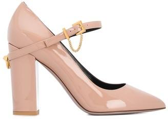 Valentino Block Heel Pumps