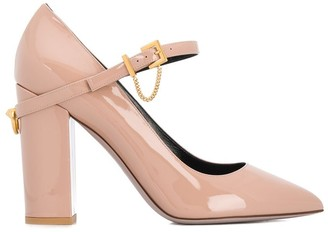 Valentino Garavani block heel pumps