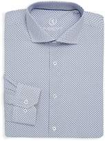 Bugatchi Men's Printed Cotton Dress Shirt