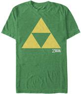 Fifth Sun Men's Tee Shirts KEL - Legend of Zelda Green Triforce Tee - Men