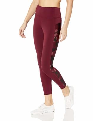 Amazon Essentials Women's Side Stripe Performance Mid-Rise 7/8 Length Legging