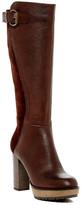 Manas Design Contrast Tall Boot
