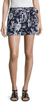 BY AND BY by&by Floral Tie Waist Soft Shorts
