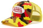 Von Dutch Red Camouflage Trucker Hat