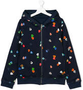 Paul Smith TEEN printed zipped jacket