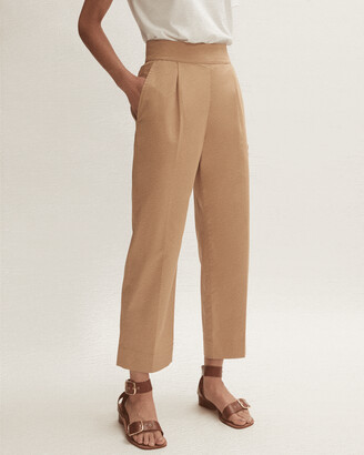 Jigsaw Front Pleat Cotton Chino