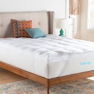 Linenspa LinenspaSignature 3-in. Down-Alternative Fiber Bed Mattress Topper