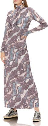 AFRM Blaine Long Sleeve Maxi Dress