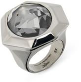 Swarovski Reverse Large Ring - Silver Night
