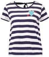Kaporal ALOES Print Tshirt marine