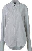 Josh Goot striped shirt - women - Cotton - XXS
