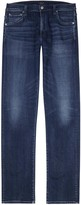 Citizens Of Humanity Mod Blue Slim-leg Jeans