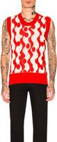 Calvin Klein Crew Neck Sleeveless Top