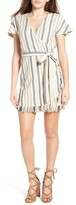 Tularosa Women's Didion Stripe Wrap Dress
