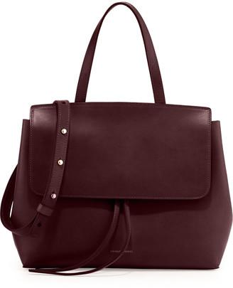 Mansur Gavriel Vegetable-Tanned Leather Mini Lady Bag