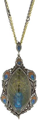 Sevan Biçakci Reversible Carved Peacock Pendant