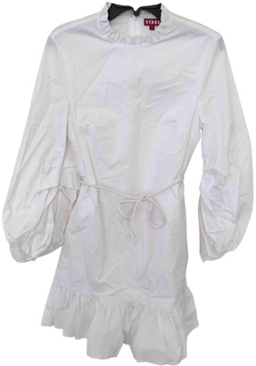 LoveShackFancy White Silk Dresses