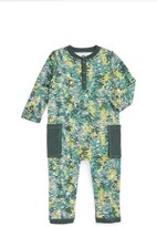 Tea Collection Infant Boy's 'Takeo' Henley Romper