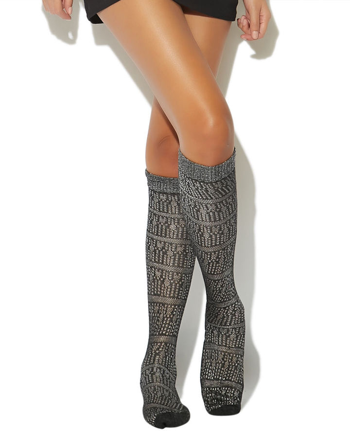 Wet Seal Over the Knee Socks