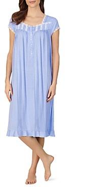 Eileen West Waltz Dot Print Nightgown