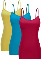 AM CLOTHES Womens Basic Tank Top 3X-Large