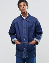 Asos Oversized Denim Chore Coat