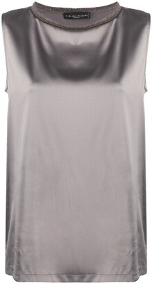Fabiana Filippi Sleeveless Shift Blouse