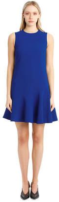 Victoria Beckham Flounce Hem Shift Dress