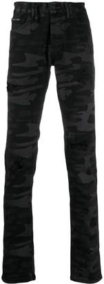 Philipp Plein Super Straight-Cut Trousers