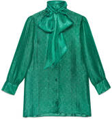 Gucci GG lurex scarf shirt